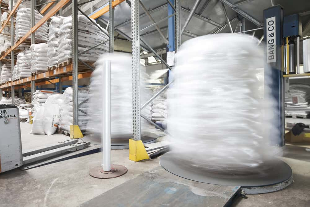 Ready for shipping – packaging malt for transport