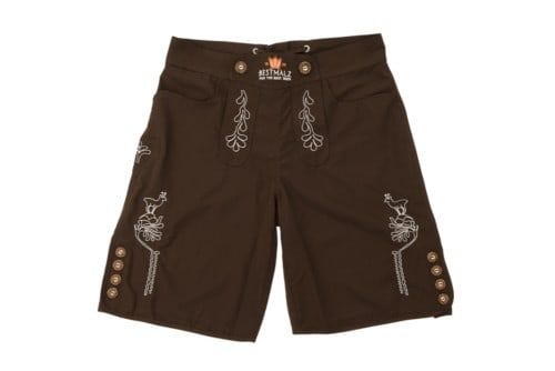 BESTMALZ Lederhose swimming trunks