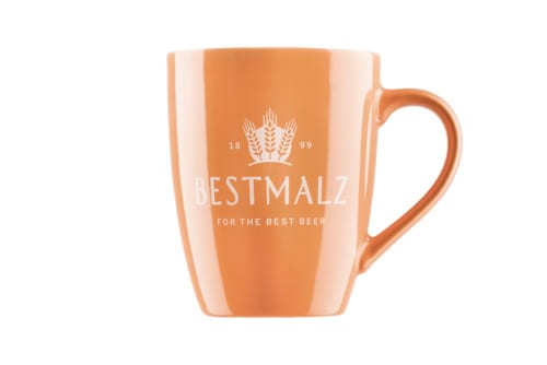 BESTMALZ Kaffeetasse orange